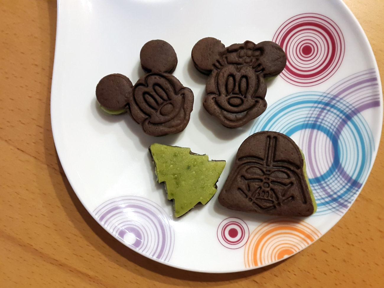 Schoko-Nougat-Kekse