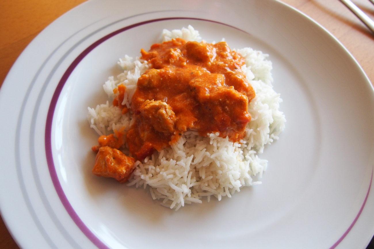 Butter Chicken Indisch