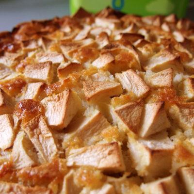 Der leckere Apelkuchen nach Omas Art