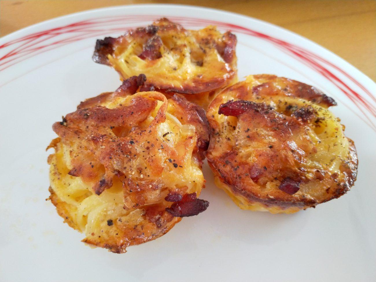 Carbonara-Muffins