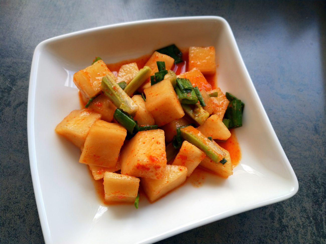 schneller Rettich-Kimchi