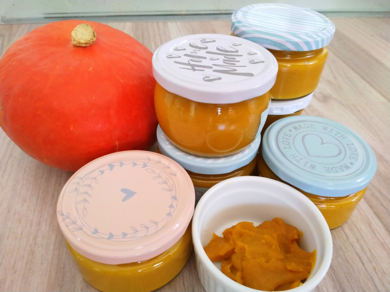 Kürbis-Orangen-Konfitüre mit Marzipan