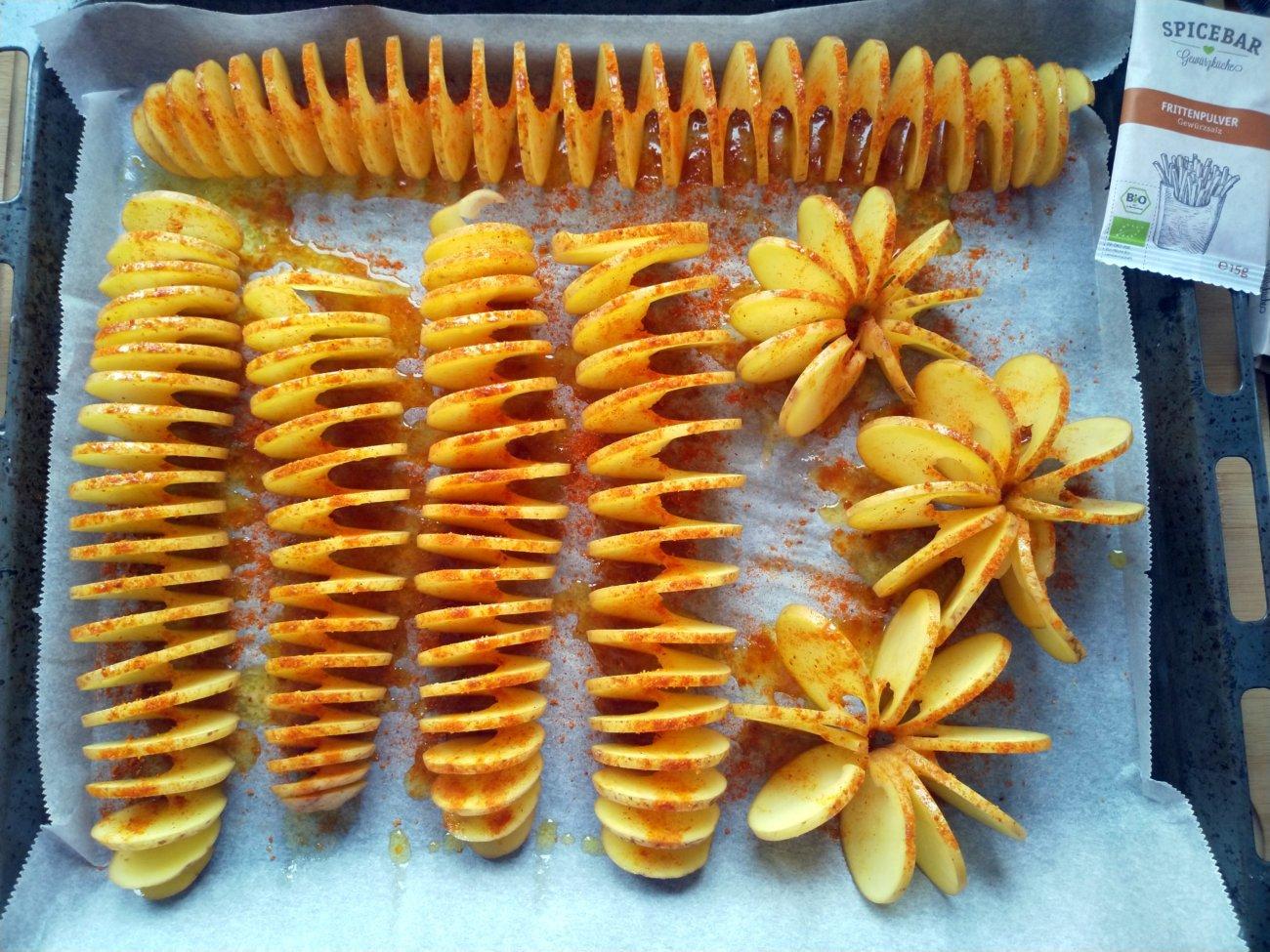Bratkartoffelspiralen