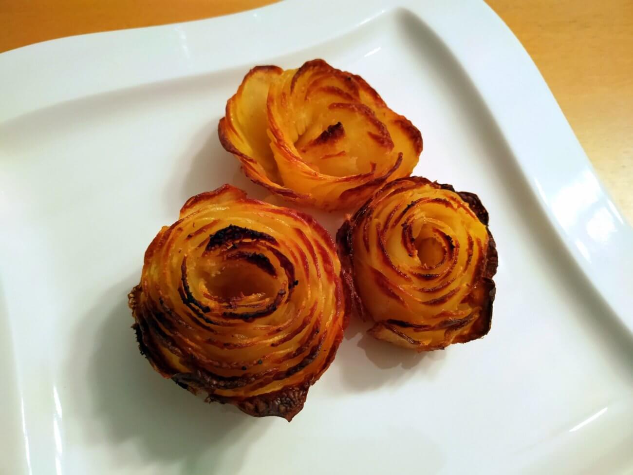 Kartoffel-Rosen